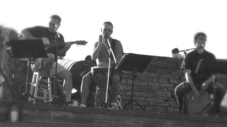 Chasing Angus band playing